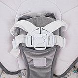 Электрокачели PITUSO CARINO Жираф GREY/Серый МИШКИ (адаптер. пульт) 75х67х98.5см, фото 6