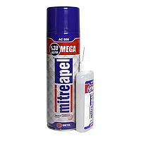 Клей двухкомпонентный с активатором 130гр+500мл MEGA