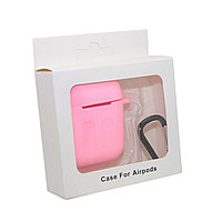 Чехол Silicone Case Розовый для Airpods
