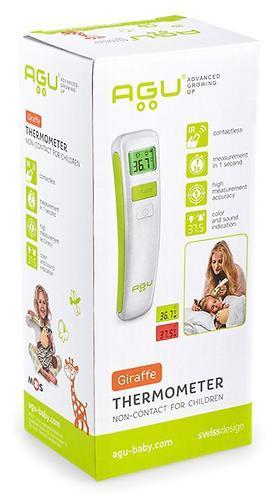 Термометр AGU детский бесконтактный Giraffe NC8
