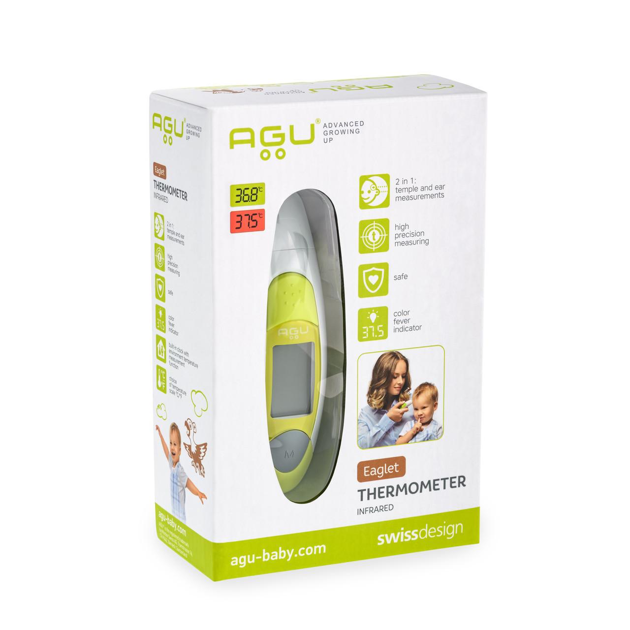 Термометр AGU инфракрасный Smart Brainy SHE7
