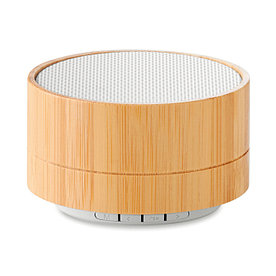 Bluetooth динамик с бамбуковым корпусом