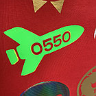 Термо флекс 0,5мх25м PU флуоресцентный зеленый метр, фото 3