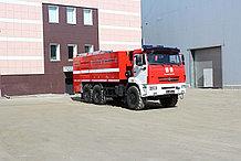 Автоцистерна пожарная АЦ–9,0-40 (43118) На базе Камаз 43118; Насос: С насосом заднего расположения