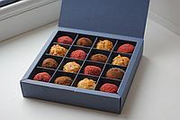 Изготовление подарочных сладких наборов из бельгийского шоколада