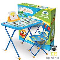 Комплект детской мебели Nika kids с рисунком «Азбука»