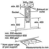 Вытяжка Bosch DWB 064W51T (для настенного монтажа), фото 10