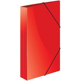 """Папка на резинке Berlingo """"Standard"""" А4, 600мкм, красная"""