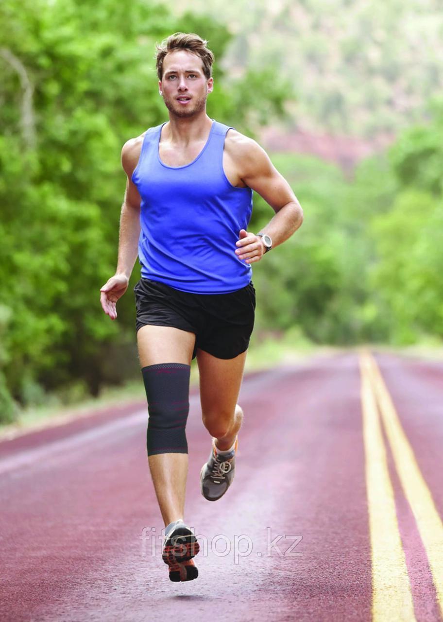 Эластичный фиксатор на колено Ultra Flex Athletics Knee Compression Sleeve Support - фото 2