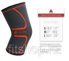 Эластичный фиксатор на колено Ultra Flex Athletics Knee Compression Sleeve Support - фото 4