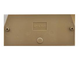 AP/L/Q/D BG Пластина концевая для клемм PTK