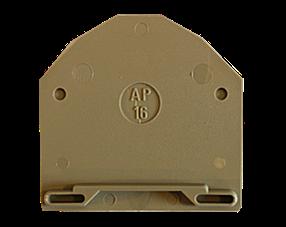 AP 16 BG Пластина концевая для клемм RK 16