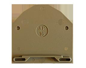 AP 16 BG Пластина концевая для клемм RK 16, фото 2