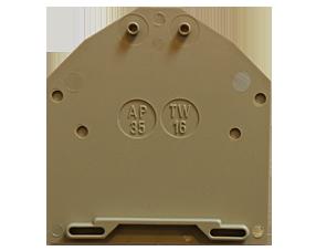 AP 35 BG Пластина концевая для клемм RK 35, фото 2