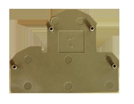AP 4 BG Пластина концевая для клемм RKD 2,5-4