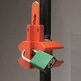 Накладной блокиратор шарового вентиля, фото 3