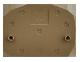 ZAP SR BG Пластина концевая для клемм ZSRK 2,5/2A, фото 2
