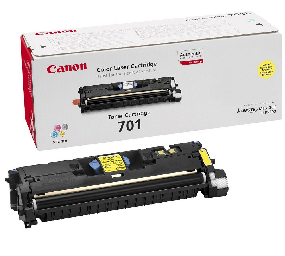 Canon 9284A003 Картридж CARTRIDGE 701 YELLOW для LBP5200, MF8180C