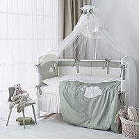 Комплект в кроватку Perina Бамбино 6 предметов Олива, фото 1