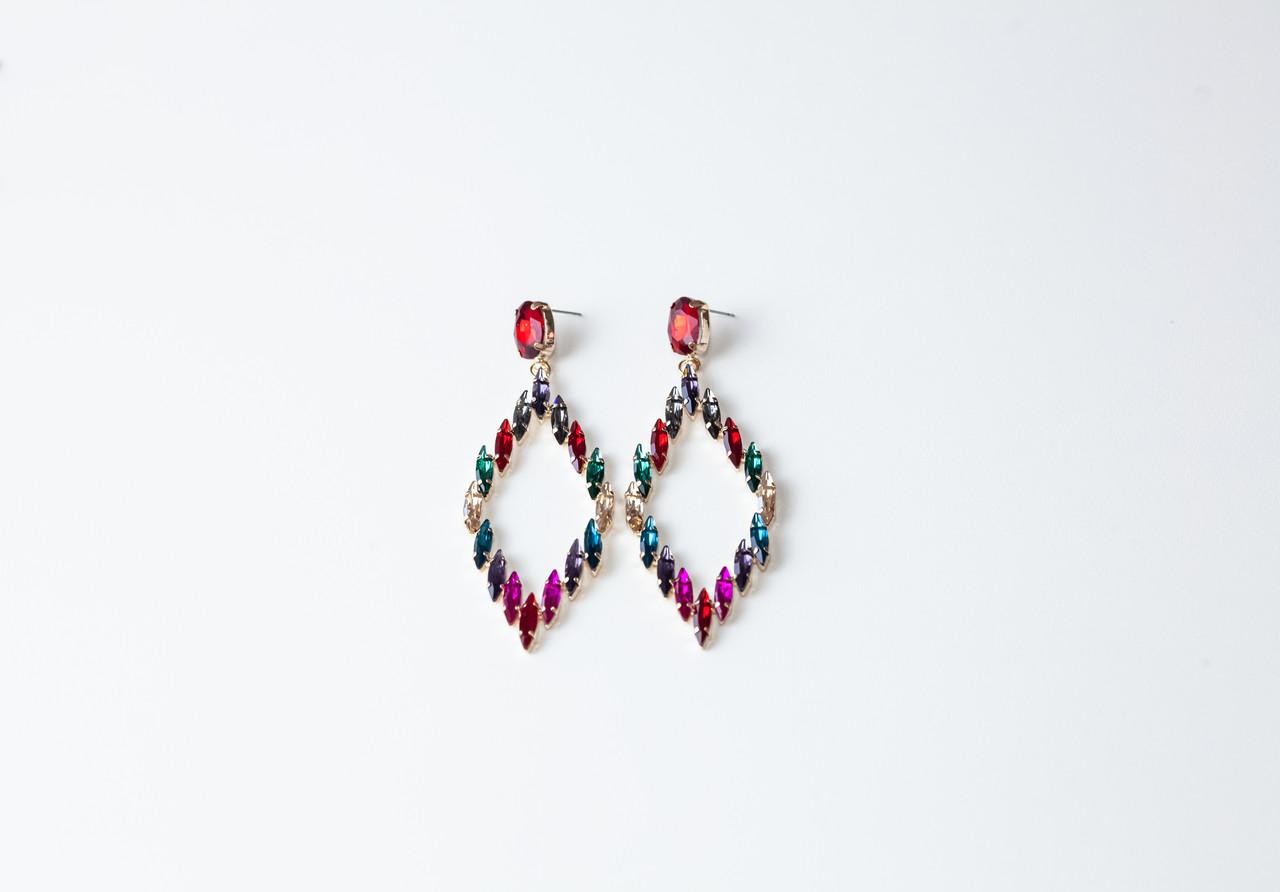 Вечерние Серьги Brosh Jewellery (Кристалл)