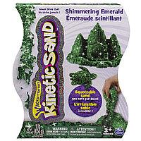 """Песок для лепки Kinetic Sand """"Драгоценные камни"""" - Изумрудно-зеленый, 454 г"""