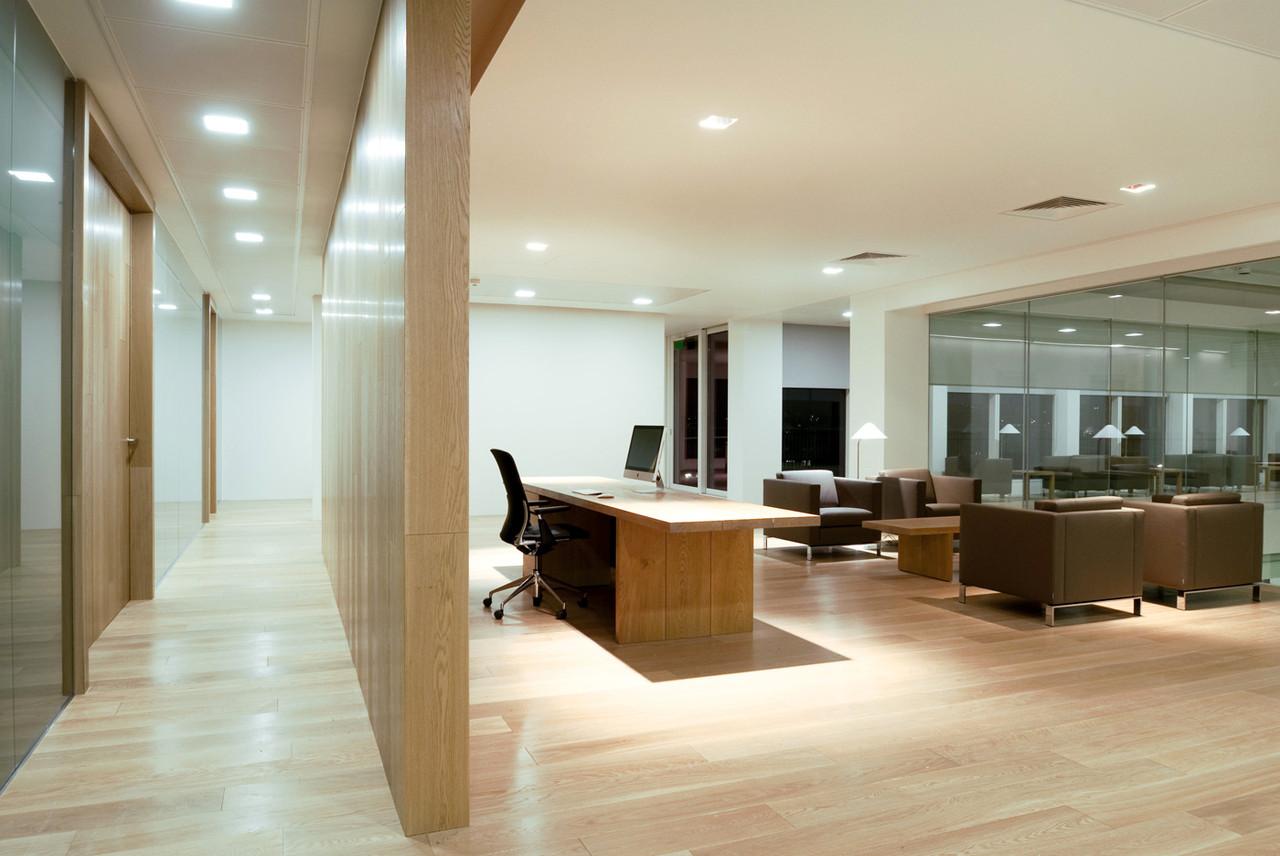 Косметический ремонт бизнес-центров