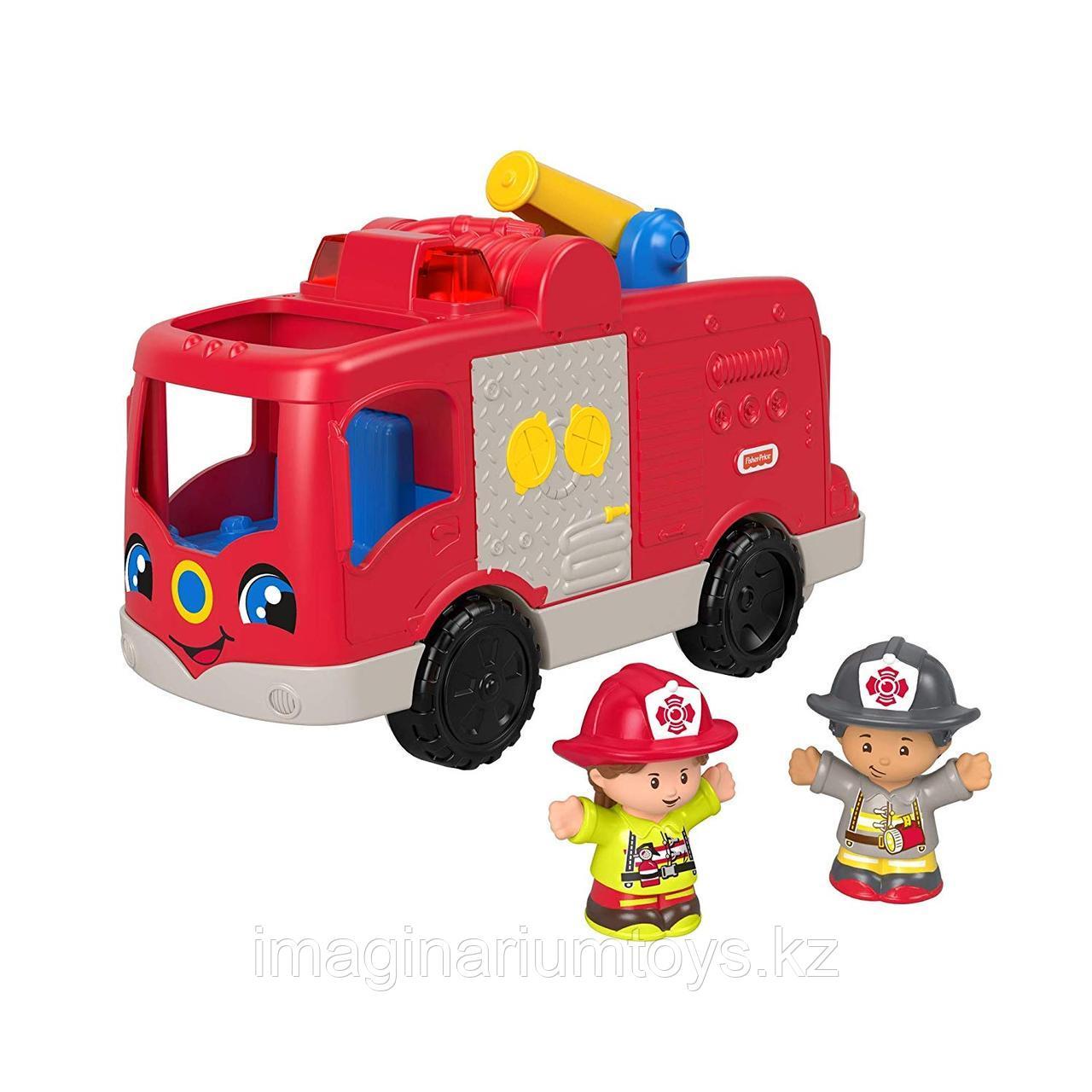 Игрушка для детей «Пожарная машина» со звуком и светом