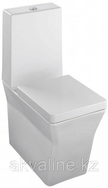 Reve Унитаз, устанавливаемый к стене, с крышкой/сиденьем белый