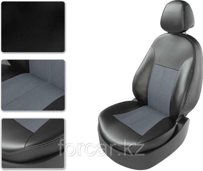 Чехол Carfashion Toyota Land Cruiser Prado 150 черный-черный