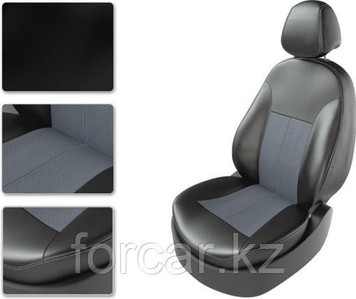 Чехол Carfashion Toyota Land Cruiser Prado 150 черный-черный, фото 2