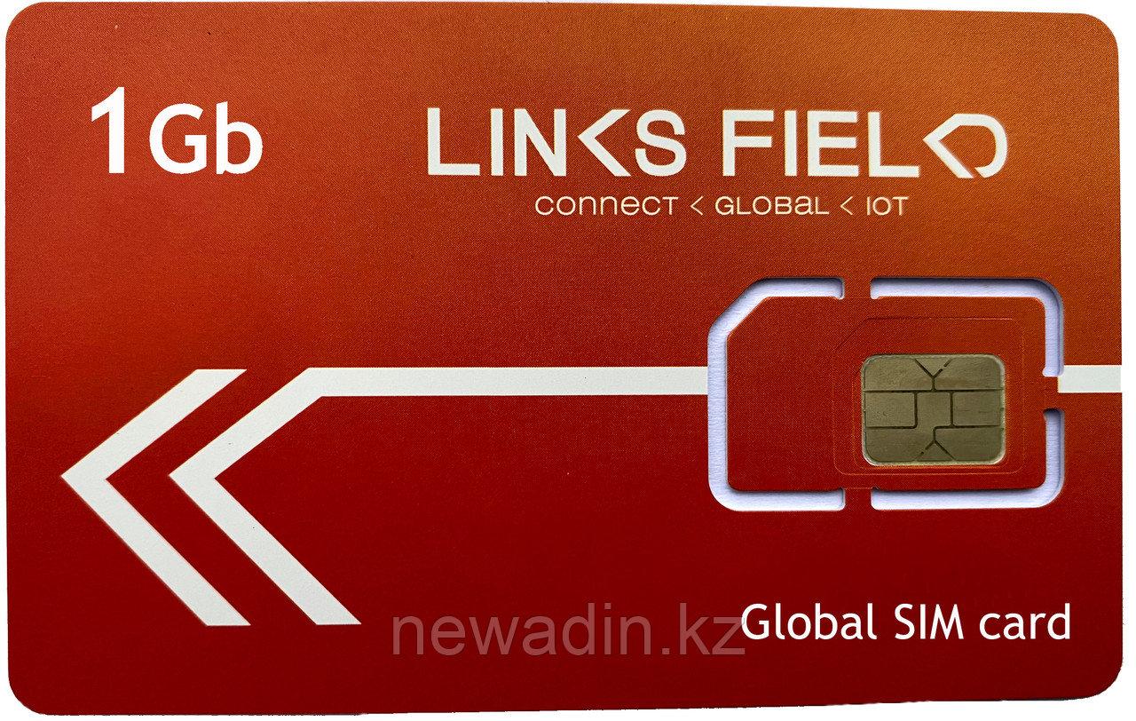 Глобальная (83 страны) СИМ карта с 1Гб интернета для путешественников и бизнеса
