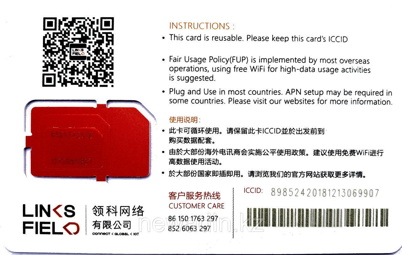 Глобальная (83 страны) СИМ карта с 1Гб интернета для путешественников и бизнеса - фото 2