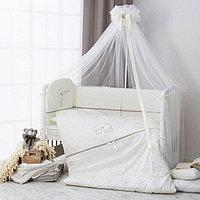Комплект в кроватку Perina Le petit bebe 3 предмета молочно-кофейный, фото 1