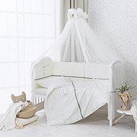 Комплект в кроватку Perina Le petit bebe 3 предмета молочно-оливковый, фото 1