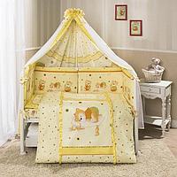 Комплект постельного белья Perina Ника бежевый 7 предметов, фото 1