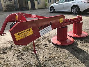 Косилка роторная 1,25м Wirax Польша (цепной привод), фото 3