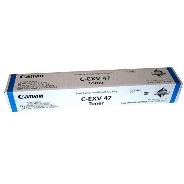 Canon 8517B002 Картридж C-EXV47 BL Лазерный, голубой, 21500 стр.