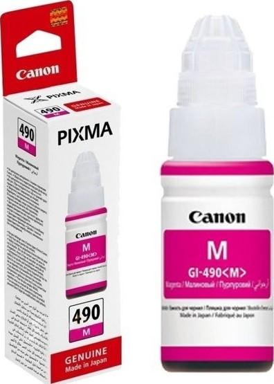 Canon 0665C001 Картридж GI-490 M струйный пурпурный, 70 мл.