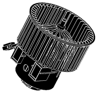 Мотор отопителя TOYOTA DYNA 92~ 24V AD-TY04