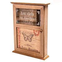 Ключница декоративная настенная «Уют в доме» (Бабочка)