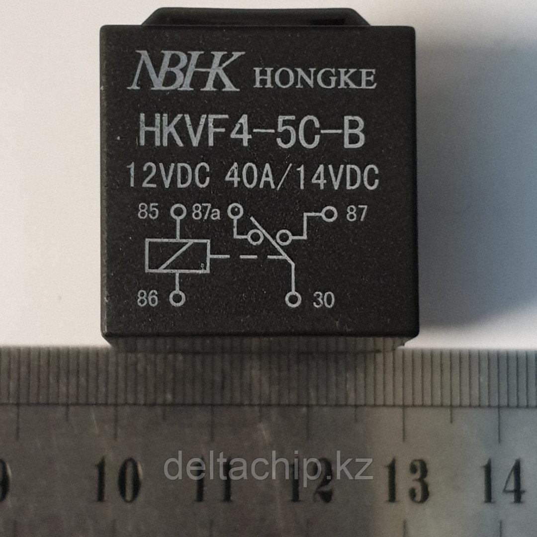 Реле автомобильное 12VDC 40A 5 контактов