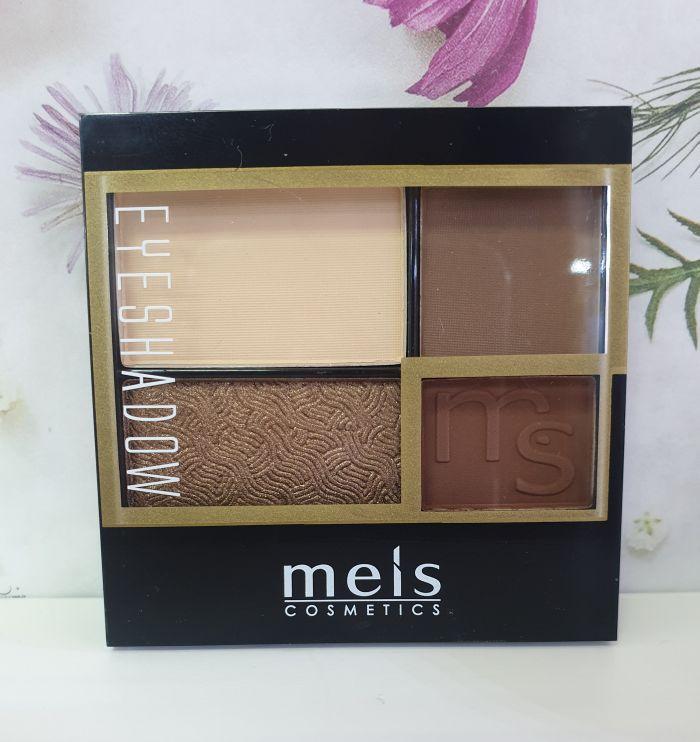 Тени для век Meis Eyeshadow( 4 цвета)