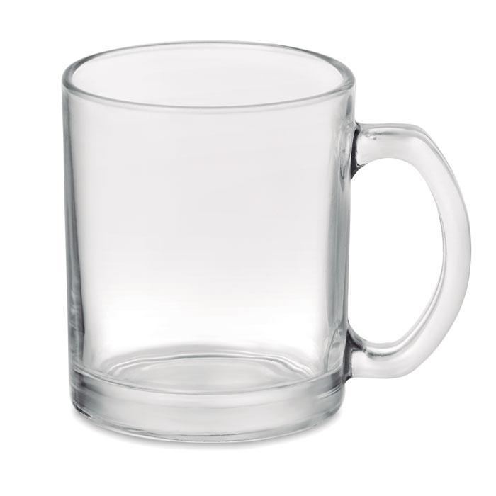 Кружка стеклянная глянцевая для сублимации