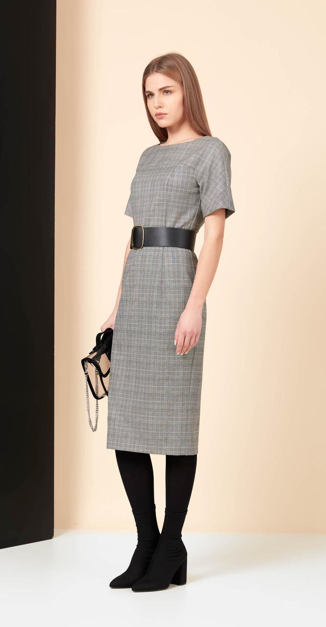 Платье Favorini-21840-1, серый, 42