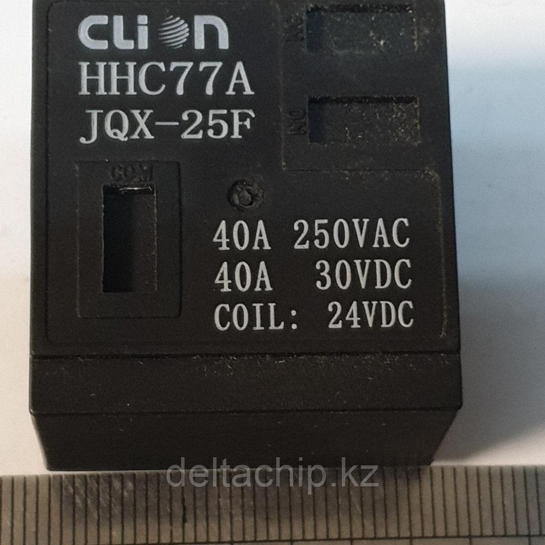 Реле 24VDC JQX-25F 40А
