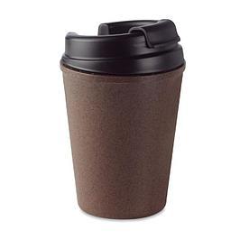 Эко Кружка с двойными стенками из кофейной шелухи