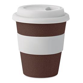 Эко Стакан одностенчатый из кофейной кожуры