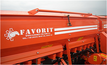 Сеялка зерновая СЗФ 3,6 (SZF - 3.600) ФАВОРИТ, фото 2