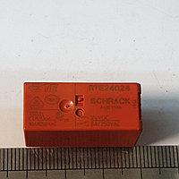 Реле миниатюрное 24VDC 2 группы контактов по 8А RTE24024 1-1393243-0 TE РЕЛЕ