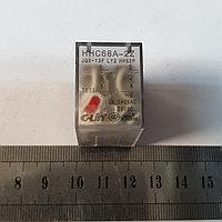 Реле 24VAC 2 группы контактов 10А HHC68A-2Z